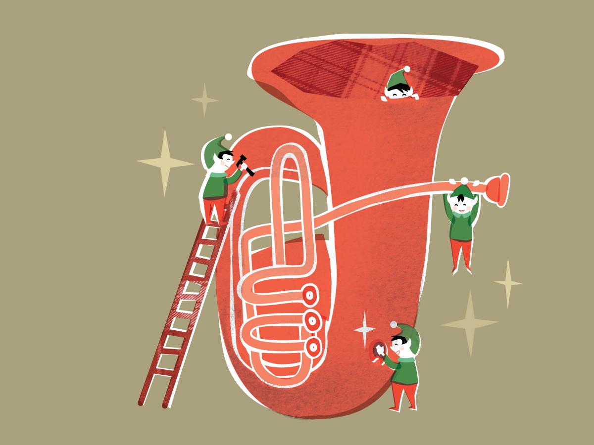 Tuba Christmas.Byu Hosts Utah Tuba Christmas Concert Dec 5