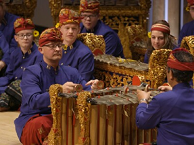 Evening of Percussion to feature Gamelan Bintang Wahyu, Panoramic Steel and Percussion Ensemble April 15