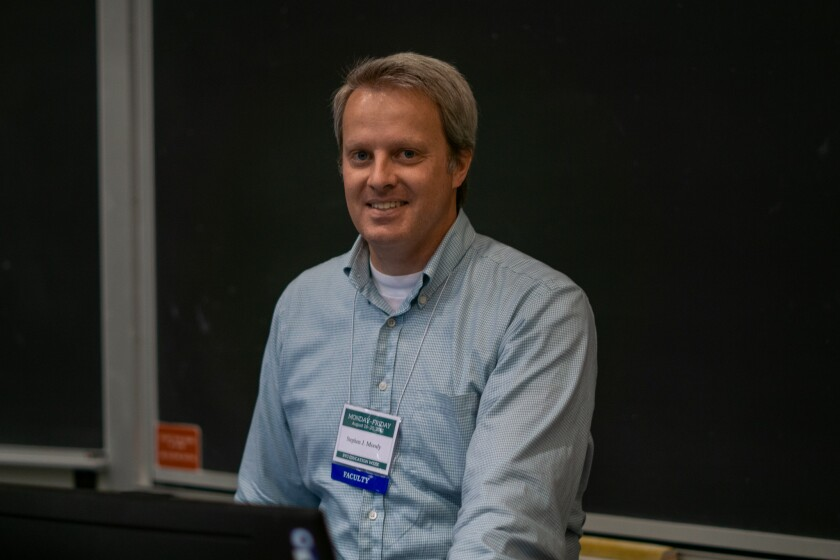 Photo of Assistant Professor Steve Moody