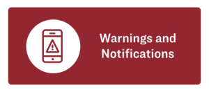 Warnings and Notifications Button