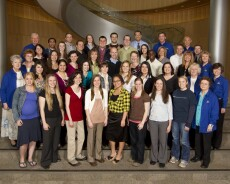 the MSW Class of 2011 poses for a photo