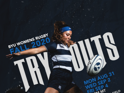 Women's Rugby - Fall 2020 Tryout Flyer