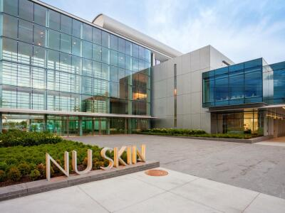 A picture of the Nu Skin campus