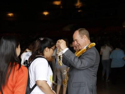 Mālamalama Welcome Ceremony