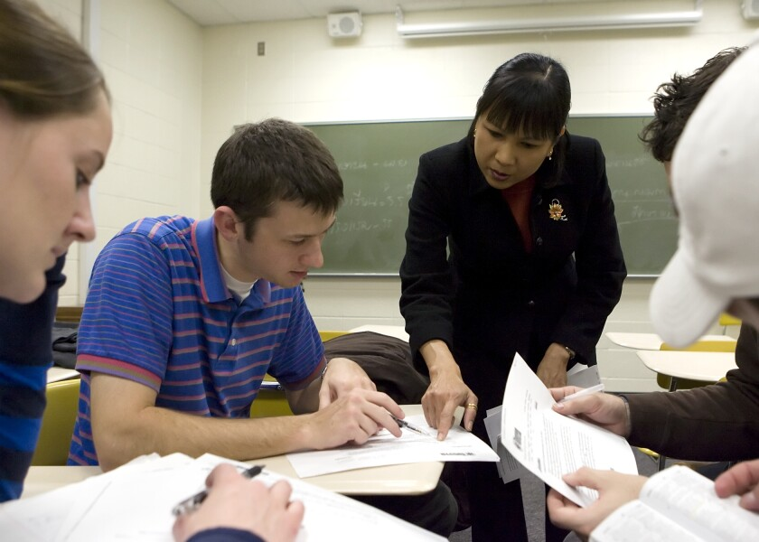 The Educator Preparation Program includes all colleges and departments across BYU preparing teachers in early childhood education, elementary education, special education and secondary education.