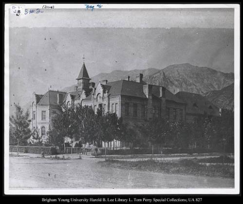 Brigham Young Academy in the early 20th century.jpg
