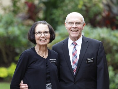 Portrait of Elder and Sister Osguthorpe