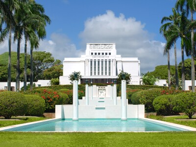 Image of the Laie Hawaii Temple