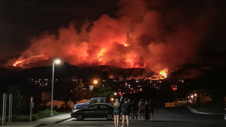 BYU students help create thermal imaging system to detect wildfires early