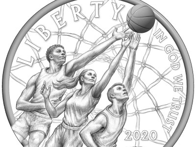 BYU professor's basketball coin design wins national competition