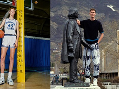 BYU genetic researchers solve a giant mystery: How Shawn Bradley got to be so tall