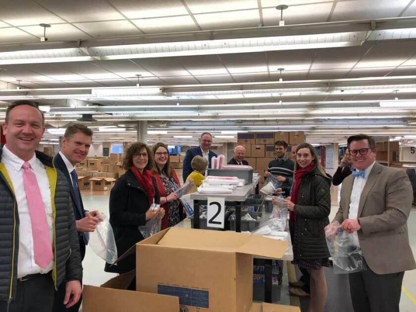 Feb 27, 2020 - Church Humanitarian Center (Salt Lake City) assembly line
