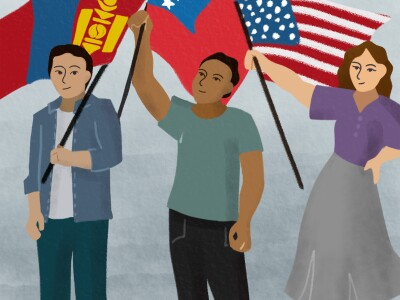 Good citizenship involves being politically active and understanding governments, says professors and student