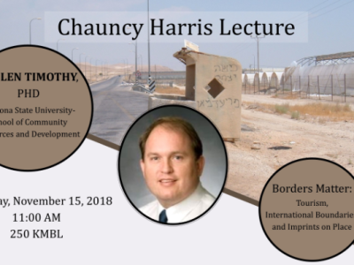 Chauncy Harris Annual Lecture