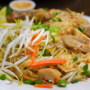 This is a photo of pad thai.