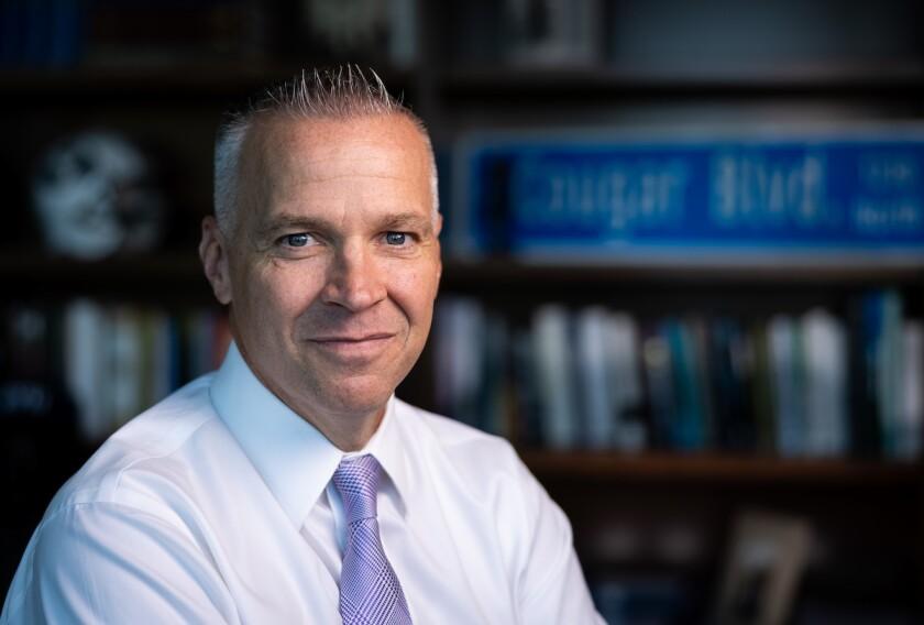 Image of Shane Reese, BYU Academic Vice President.