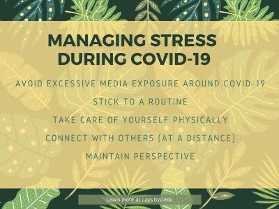 Mental Health Amid COVID-19