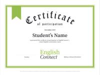 Icono de Certificado de participación
