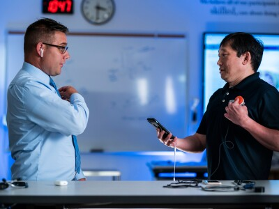 BYU profs design bluetooth stethoscope with a 50-foot range to help healthcare practitioners stay safe