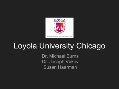 Jesuit Catholic - Loyola University Chicago