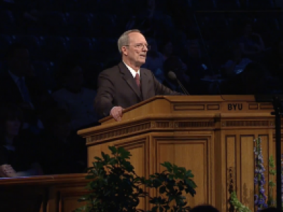 Tad R Callister speaks at BYU Womens Conference