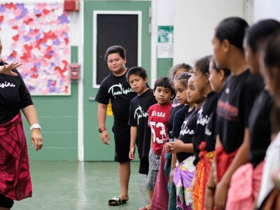 Professor teams with nephew to teach Samoan language to local children