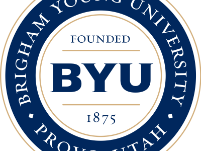 The BYU Seal.