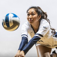 Image of Grace Wee of the BYU Women's Volleyball team.