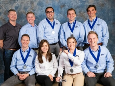 Four of six BYU Construction Management teams won high awards at the national Associated Schools of Construction Competition (ASCC)