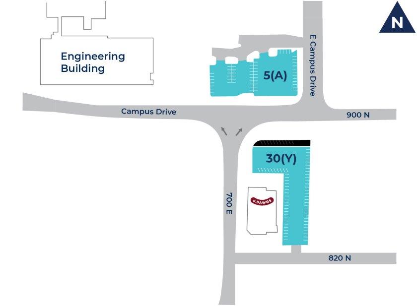 mentor alliance event parking map