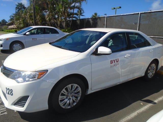 This is a photo of one of the campus sedans.