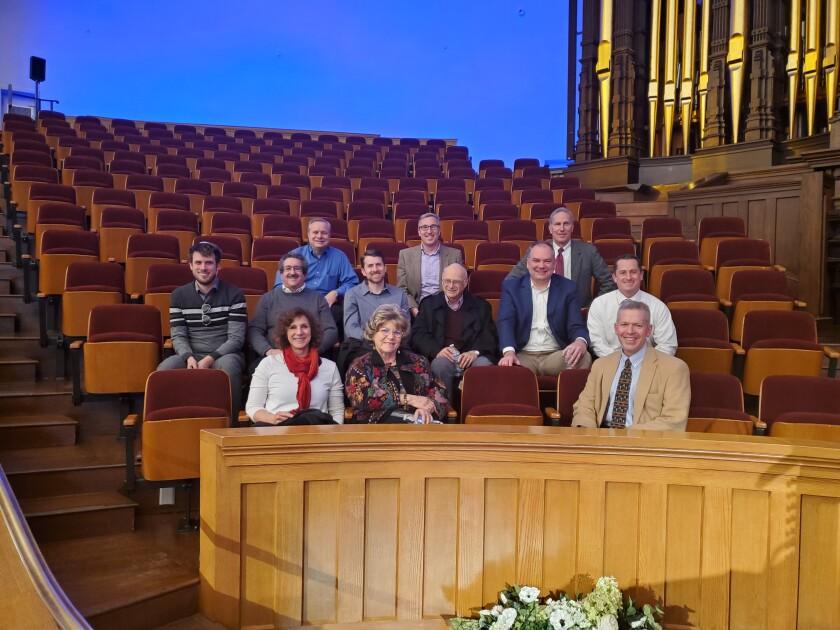 Jewish dialogue Tour of Taberancle