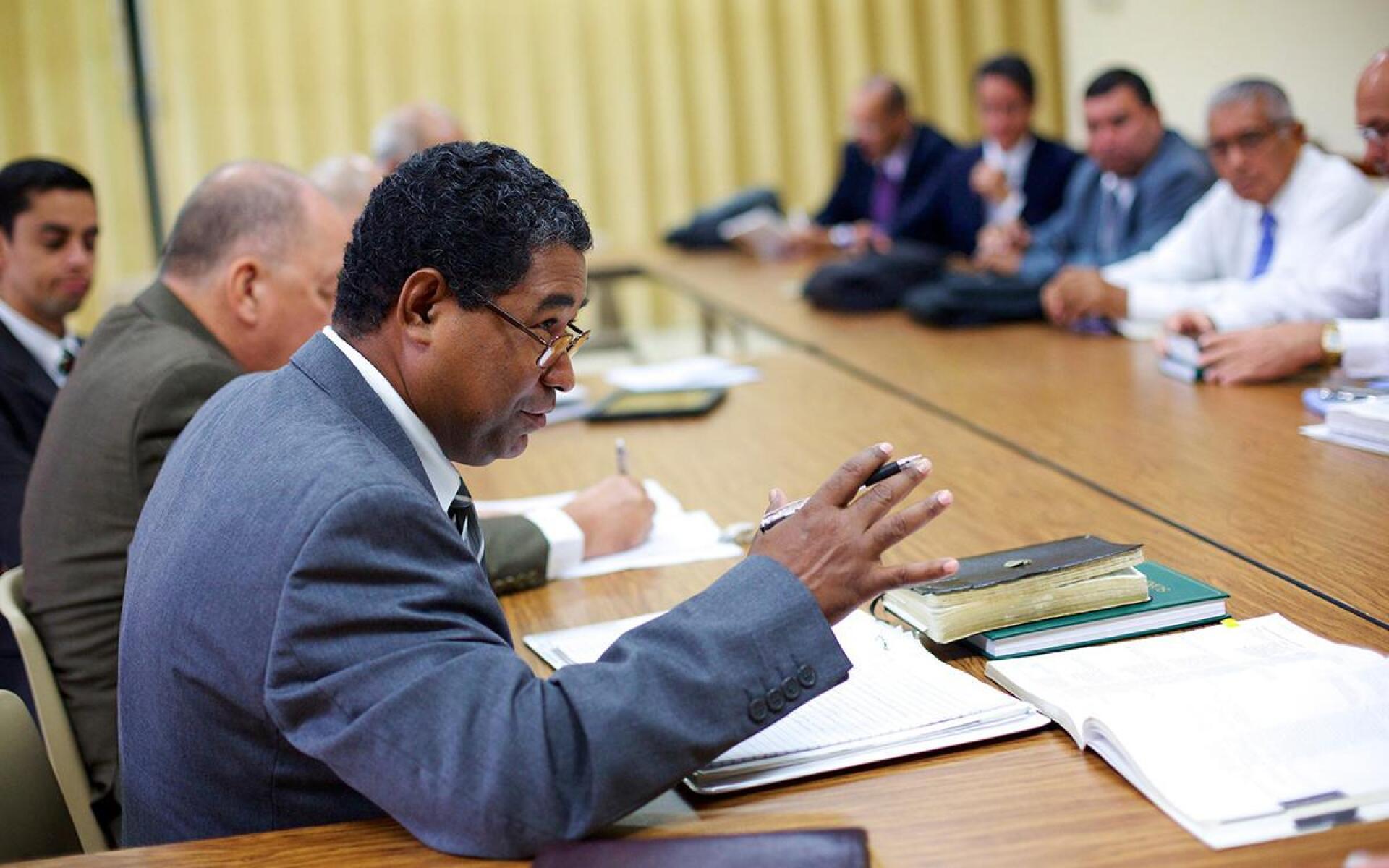 Stake Leaders Meeting Image