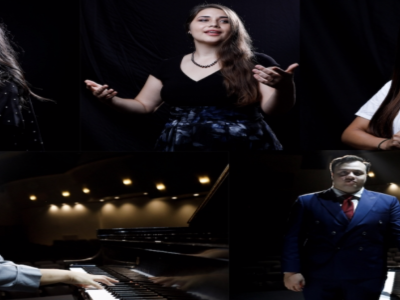 Individual photos of the students involved in the performance with the Hawaii Symphony Orchestra