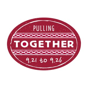 image that states pulling together 9.21 to 9.26