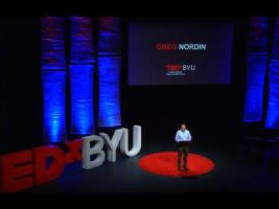 TEDxBYU professor, Greg Nordin, lectures about 3D printing for lab-on-a-chip