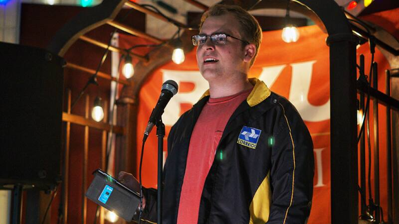 Students perform during a comedy night on Feb. 28.