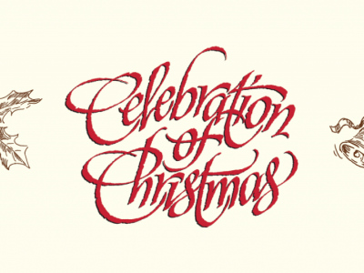Celebration of Christmas poster art