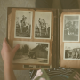 scrapbook with old pictures