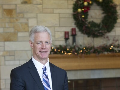 "From President Worthen: ""A Brightly-Lighted Island of Happiness and Peace"""