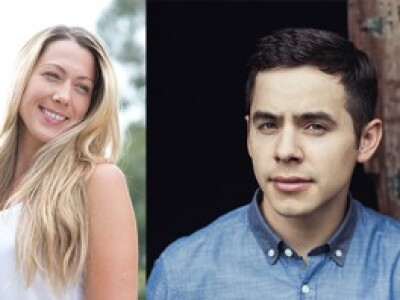 Colbie Caillat and David Archuleta