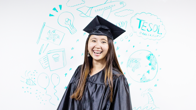 "Ying Suet ""Michelle"" Chan will be the student speaker at the Spring 2019 Commencement ceremony."