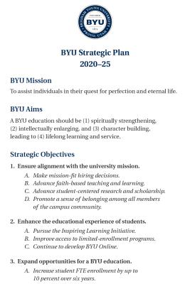 BYU Strategic Plan