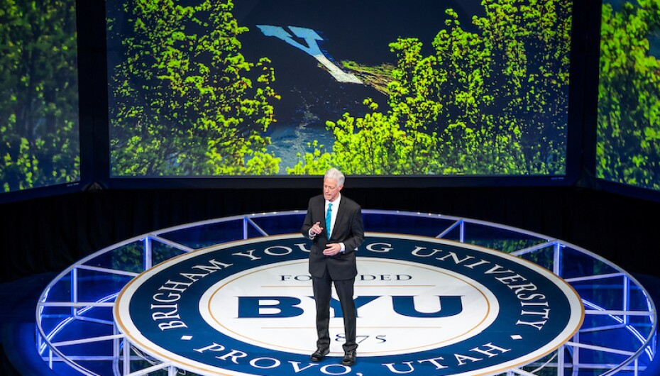 BYU Devotional: Faith, courage and hope