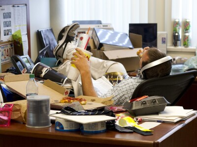 Poor employee health means slacking on the job, business losses