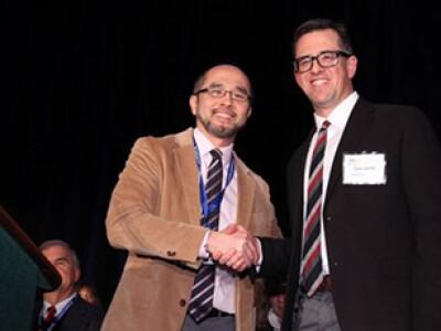Tyler Jarvisi receives teaching award