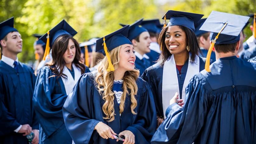 Graduating BYU Students