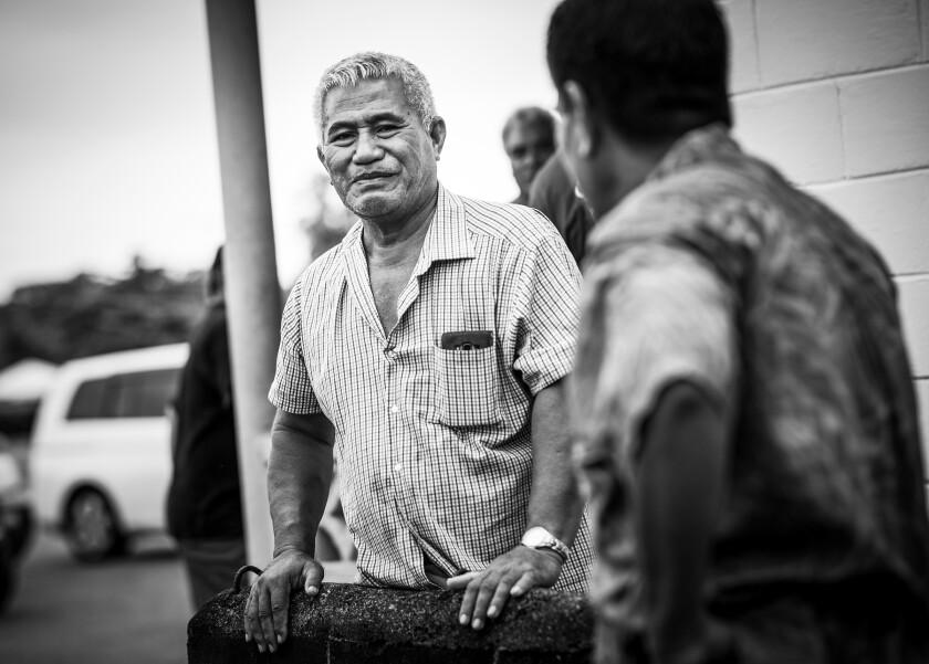 Men in Samoa
