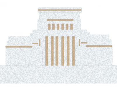 Illustration of the Laie Hawaii Temple