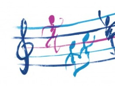 Music Notes Dancing
